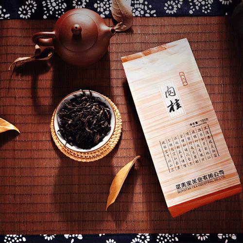 Wuyi Star Rou Gui Rougui Oolong Fujian Wuyi Mountain Rock Tea Yan Cha 100g