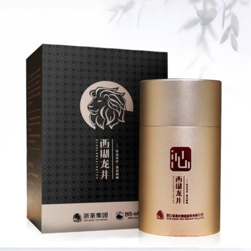 Shi Feng Lion Peak Brand Pre-Ming Supreme Longjing Dragon Well Green Tea 50g Tin