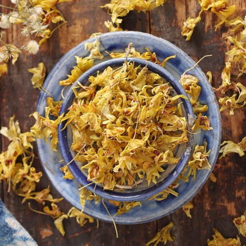 Organic Wild Shihu Fengdou Blossom Dendrobii Dendrobium Flowers Herbal Tea 500g