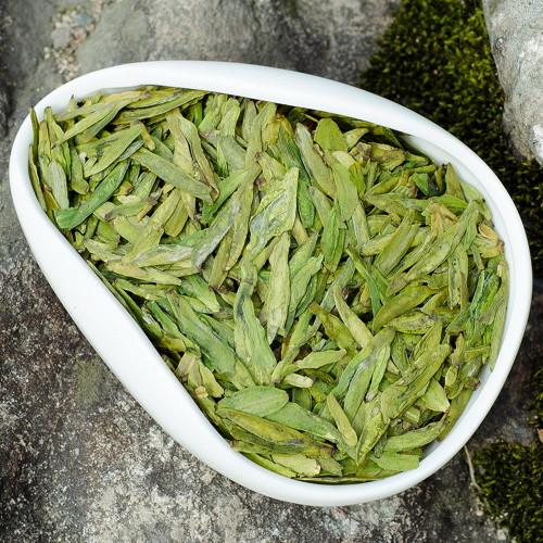 Jasmine Scented Organic Top Grade Handpicked Long Jing Dragon Well Green Tea 500g