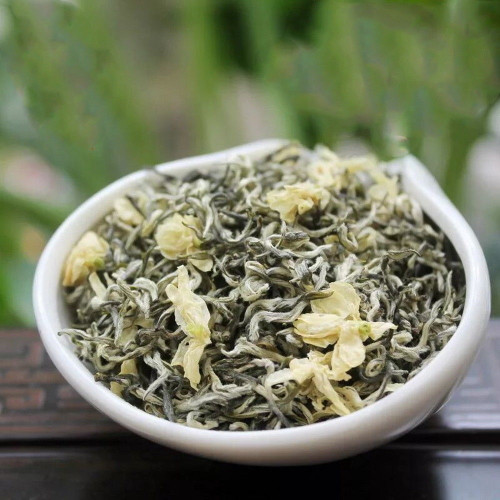 Organic Jasmine Scented Top Meng Ding Gan Lu Sweet Dew High Mountain Green Tea 500g