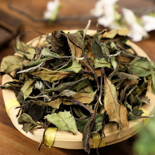 Organic Fuding High Mountain Wild Spring Shou Mei Longevity Eyebrow White Tea 500g