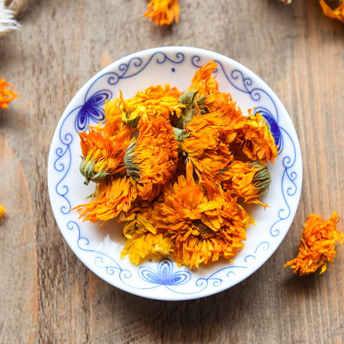 Organic Natural Marigold Flower Calendula Officinalis Blossom Herbal Tea 500g
