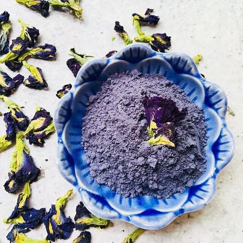 Organic Powdered Butterfly Pea Flower Clitoria Ternatea Natural Blue Dye Powder 500g