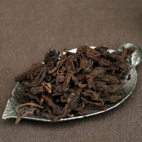 Aged Wild Camphor Aroma Large Leaf Menghai Ancient Tree Pu-erh Tea 2006 Ripe 500