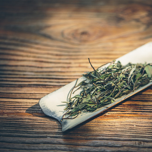 Organic Jasmine Scented Bai Mu Dan White Peony White Tea 500g