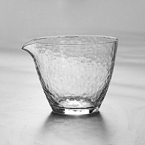 Clear Borosilicate Glass Kungfu Tea Serving Tea Pitcher Fair Cup Cha Hai 250ml