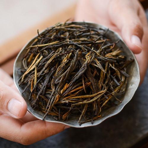 Wild Ancient Tree Top Classic 58 Fengqing Dian Hong Big Leaf Yunnan Black Tea 500g