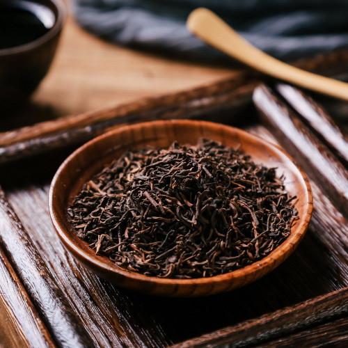 Milk Flavored Top Grade Aged Spring Menghai Golden Buds Loose Pu-erh Tea Ripe 500g