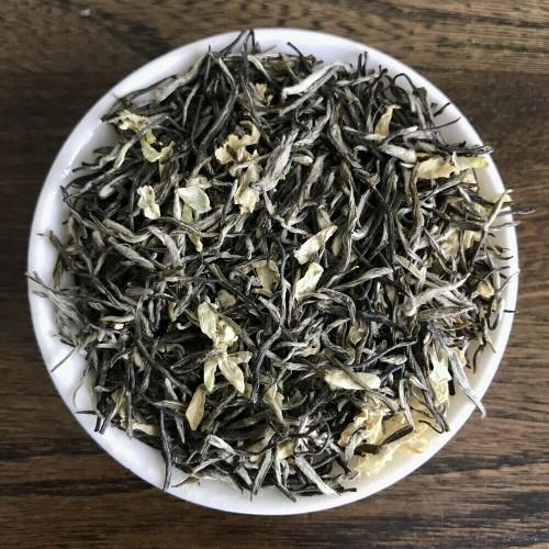 Nonpareil Organic Tian Gang Yin Ya Silver Tip Handmade Top Jasmine Green Tea 500g