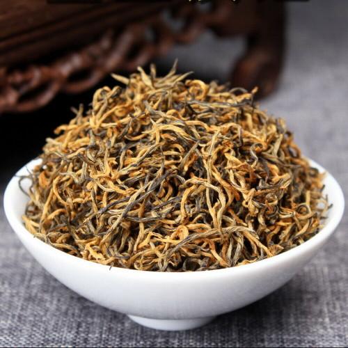 Organic Supreme Jasmine Dianhong Golden Buds Dian Hong Yunnan Gold Black Tea 500g