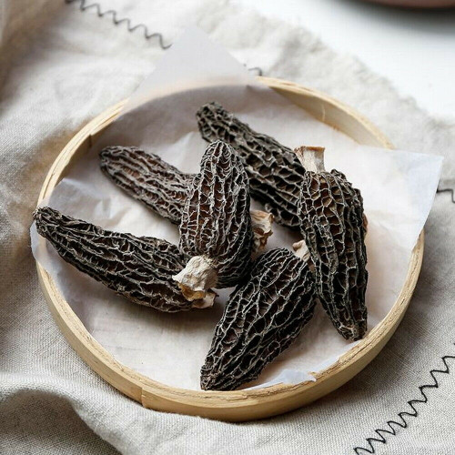 Dried Wild Organic Natural High Mountain Fresh Harvest Top Whole Morel Mushrooms 500g