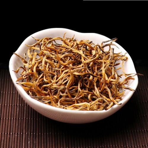 Premium Organic Full Bud Golden Dian Hong Spring Harvest Yunnan Gold Black Tea 500g