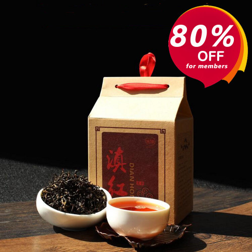 Feng Qing Old Bush Dianhong Dian Hong Yunnan Gold Black Tea 100g (-80% for orders above $100 with membership)