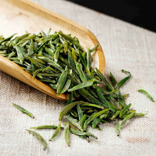 Nonpareil Organic Han Zhong Wu Zi Xian Hao Pan Fired Pre-Ming Chinese Green Tea 500g