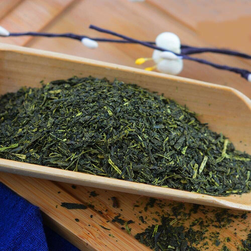 Premium Organic Sencha Crushed & Steamed Deeply Roasted Japanese Green Tea 500g