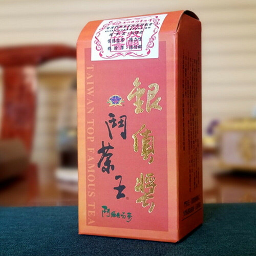 Taiwan Top Dong Ding Oolong Tea Competition Winter Harvest Silver Award 200g