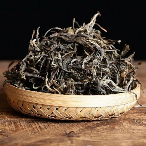 Organic Yunnan Mengku 300 Years Old Wild Ancient Tree Spring Loose Pu'er Tea Raw 500g