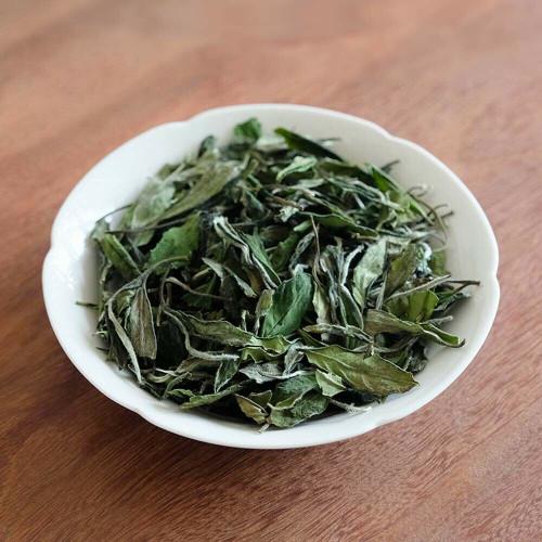Jasmine Scented Organic Spring Harvest Fuding Shou Mei China Fujian White Tea 500g