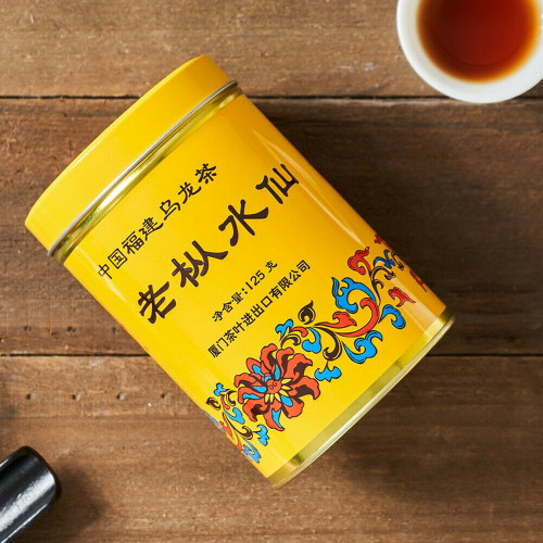Sea Dyke Lao Cong Shui Xian Fujian Wuyi Old Bush Rock Tea 125g