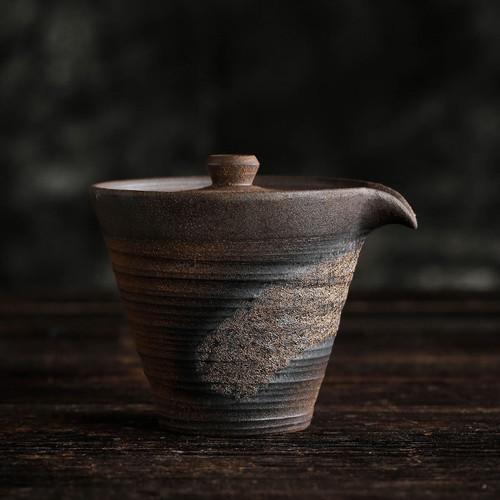 Creative Retro Ceramic Gongfu Tea Gaiwan Brewing Vessel 140ml