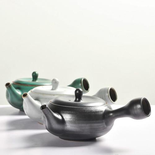 Zen Wind Coarse Pottery Ceramic Chinese Kung Fu Tea Teapot 175ml