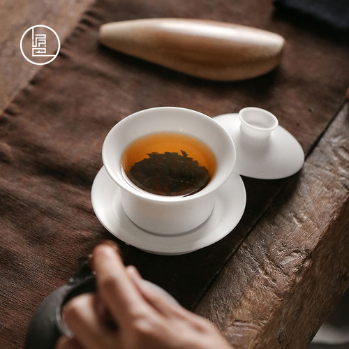 Dehua White Porcelain Ceramics Gongfu Tea Gaiwan Brewing Vessel 150ml