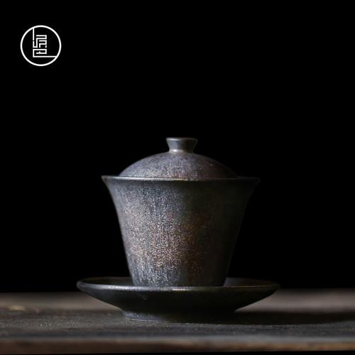 Retro Ceramics Gongfu Tea Gaiwan Brewing Vessel 160ml