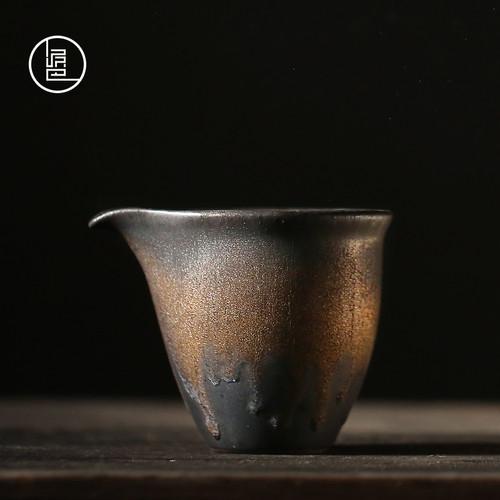 Liu Jin Coarse Pottery Pottery Fair Cup Of Tea Serving Pitcher Creamer