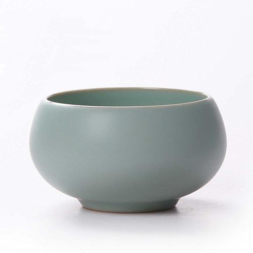 Small Ru Kiln Chanding Celadon Teacup 50ml