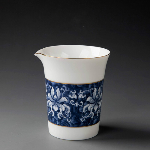 Qinghua Pottery Fair Cup Of Tea Serving Pitcher Creamer 250ml