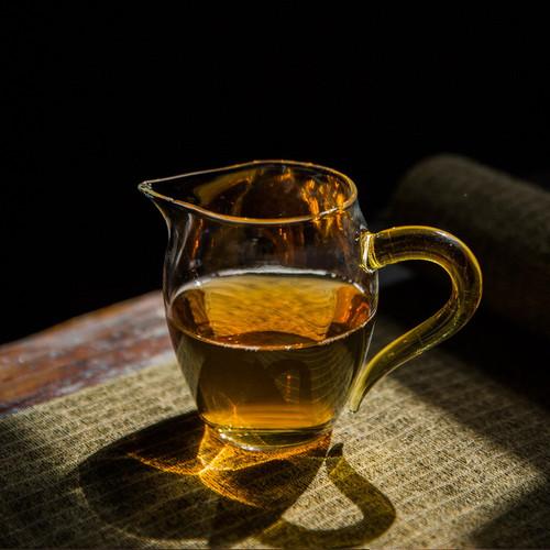 Penguin Glass Fair Cup Of Tea Serving Pitcher Creamer 350ml