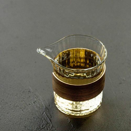 Zhu Tao Glass Fair Cup Of Tea Serving Pitcher Creamer 250ml