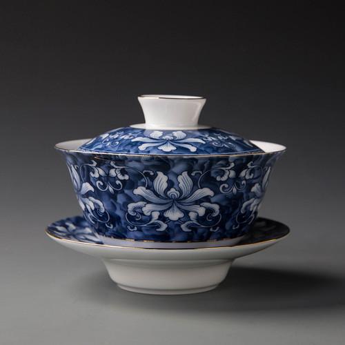 Qinghua Ceramics Gongfu Tea Gaiwan Brewing Vessel