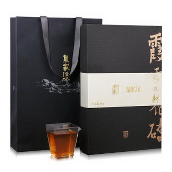 BAISHAXI Brand Huang Jia Xi Xia Lu Flower Brick Tea Hunan Anhua Dark Tea 1000g Brick