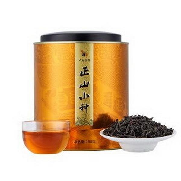 BAMA Brand Round Can Lapsang Souchong Black Tea 250g