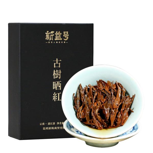 Xin Yi Hao Brand Ancient Tree Shai Hong Dian Hong Yunnan Black Tea 200g