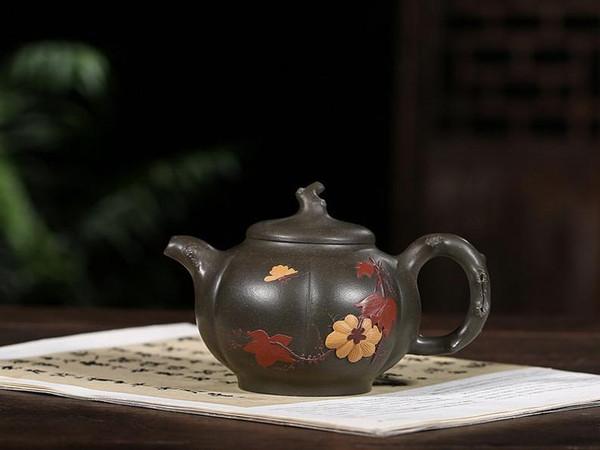 Handmade Yixing Zisha Clay Teapot Qingcheng 230ml