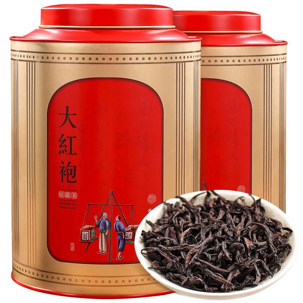 ZHONG MIN HONG TAI Brand Zhenpin Datong Da Hong Pao Fujian Wuyi Big Red Robe Oolong Tea 250g*2