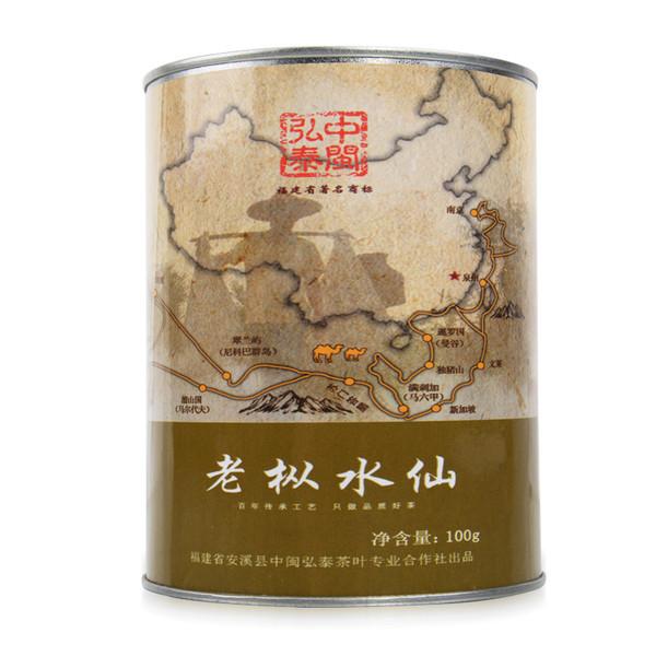 ZHONG MIN HONG TAI Brand Yan Chuang World Lao Cong Shui Xian Rock Yan Cha China Fujian Oolong Tea 100g