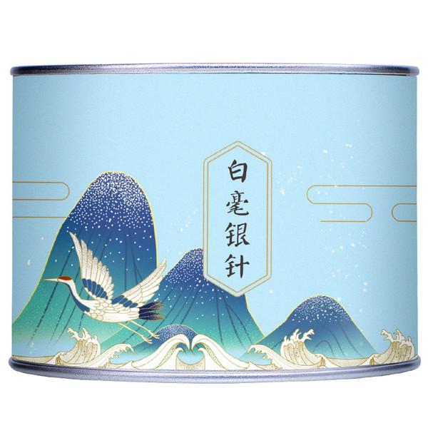 ZHONG MIN HONG TAI Brand First Plucked Bai Hao Yin Zhen Silver Needle White Tea Loose 60g