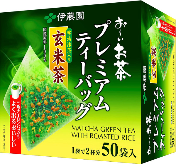 Ito En Itoen Premium Genmaicha with Uji Matcha 50 Tea Bags