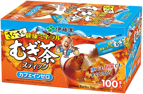 Ito En Itoen Smooth Healthy Mineral Barley Tea 0.8g x 100 Sticks