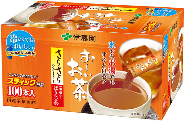 Ito En Itoen Ooi Tea Smooth Hojicha 0.8g x 100 Sticks