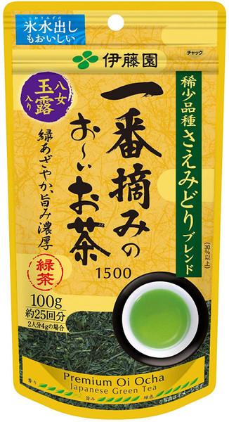Ito En Itoen Ichiban Picked Premium Oi Ocha Japanese Green Tea 1500 Yame Gyokuro 100g