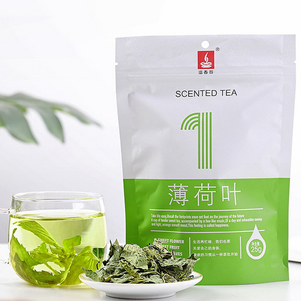 YIXIANGCHUN Brand Fresh Spearmint Leaf Tea 25g*2 Bag