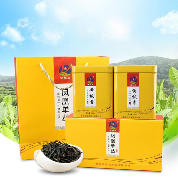 JIANYUNGE Brand Huang Zhi Xiang Phoenix Dan Cong Oolong Tea 100g*4