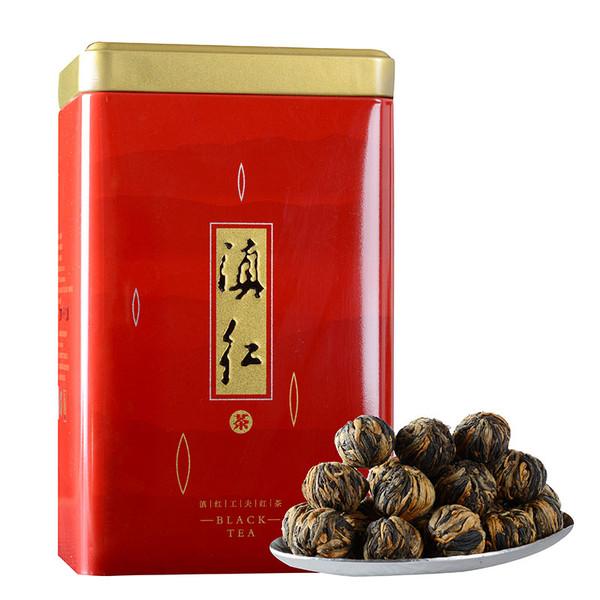 MINGNABAICHUAN Brand Red hydrangea Longzhu Dian Hong Yunnan Black Tea 250g