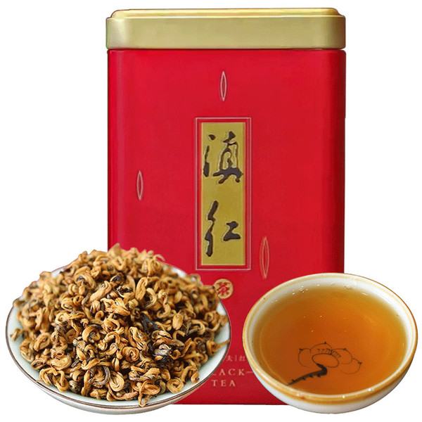 MINGNABAICHUAN Brand Mi Xiang Hong Jin Luo Dian Hong Yunnan Black Tea 250g