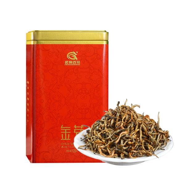 MINGNABAICHUAN Brand Zhen Pin Jin Ya Dian Hong Yunnan Black Tea 125g*2